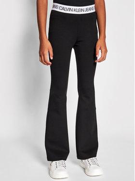 Calvin Klein Jeans Calvin Klein Jeans Leggings Logo Waistband Punto IG0IG00859 Noir Slim Fit