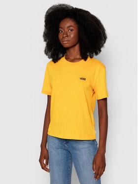 Vans Vans T-shirt Junior V Boxy VN0A4MFL Jaune Regular Fit
