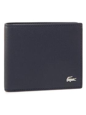Lacoste Lacoste Veľká pánska peňaženka Small Billfold NH1115FG Tmavomodrá