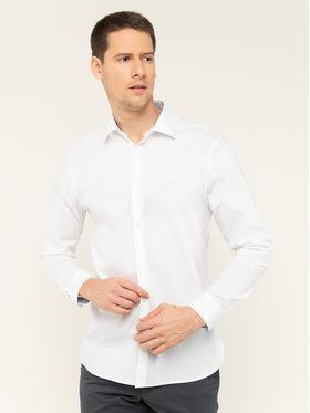 Guess Guess Риза M01H13 WCJQ0 Бял Slim Fit