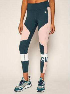 Asics Asics Leggings Color Block Cropped 2032A410 Színes Slim Fit