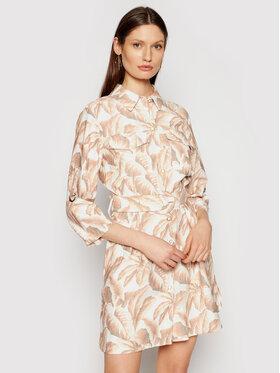 Silvian Heach Silvian Heach Sukienka koszulowa Derry PGP21752VE Beżowy Regular Fit