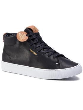 Tretorn Tretorn Sneakersy Tournament Leather Hi Wp 480137 Čierna