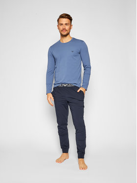 Emporio Armani Underwear Emporio Armani Underwear Pyžamo 111789 0A720 16490 Tmavomodrá