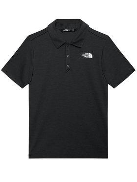 The North Face The North Face Тениска с яка и копчета Horizon NF0A3CPODYZ1 Сив Regular Fit