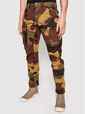 G-Star Raw G-Star Raw Spodnie materiałowe Rovic D02190-C866-C688 Zielony Tapered Fit