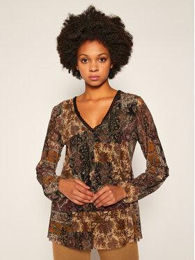 Desigual Desigual Блуза Katrina 20WWTKCI Кафяв Regular Fit