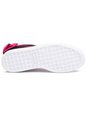 Puma Puma Sneakersy Suede Bow Jr 367316 04 Černá