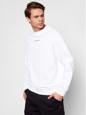 Calvin Klein Jeans Calvin Klein Jeans Mikina J30J318507 Biela Regular Fit