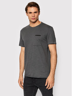 Outhorn Outhorn T-Shirt TSM614 Szary Regular Fit
