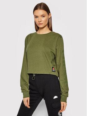 Ellesse Ellesse Блуза Taner Crop SGK12178 Зелен Regular Fit