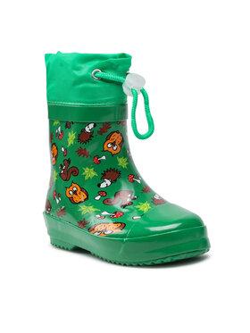 Playshoes Playshoes Гумени ботуши 180390 S Зелен