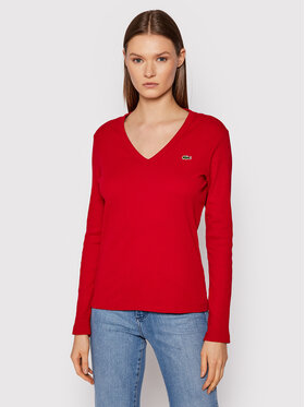 Lacoste Lacoste Блуза TF2317 Червен Regular Fit