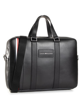 Tommy Hilfiger Tommy Hilfiger Laptoptáska Th Metropolitan Computer Bag AM0AM06294 Fekete