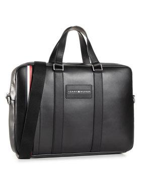 Tommy Hilfiger Tommy Hilfiger Τσάντα για laptop Th Metropolitan Computer Bag AM0AM06294 Μαύρο