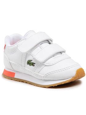 Lacoste Lacoste Sneakersy Partner 0721 1 Sui 7-41SUI0012B53 Biały