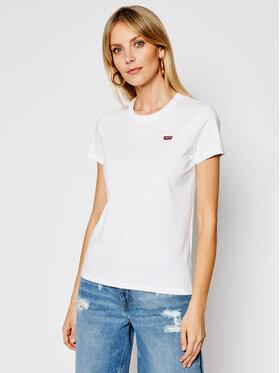 Levi's® Levi's T-Shirt Perfect Tee 39185-0006 Λευκό Regular Fit