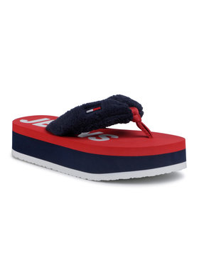 Tommy Jeans Tommy Jeans Джапанки Color Black Mid Beach Sandal EN0EN00850 Тъмносин