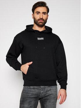 Wrangler Wrangler Sweatshirt W6E1HA100 Schwarz Regular Fit