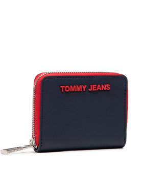 Tommy Jeans Tommy Jeans Мале жіноче портмоне Tjw Ess Small Za AW0AW10181 Cиній