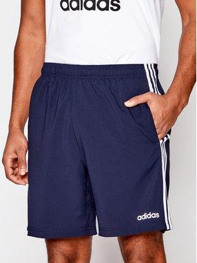 adidas adidas Pantaloni scurți sport Essentials 3-Stripes Chelsea DU0501 Bleumarin Regular Fit
