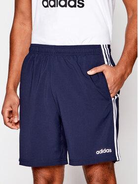 adidas adidas Športové kraťasy Essentials 3-Stripes Chelsea DU0501 Tmavomodrá Regular Fit