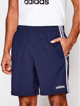 adidas adidas Szorty sportowe Essentials 3-Stripes Chelsea DU0501 Granatowy Regular Fit