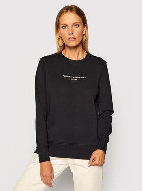 TOMMY HILFIGER TOMMY HILFIGER Sweatshirt Essential WW0WW28220 Bleu marine Loose Fit