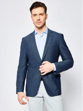 Boss Boss Švarkas Hartlay1 50427225 Tamsiai mėlyna Slim Fit