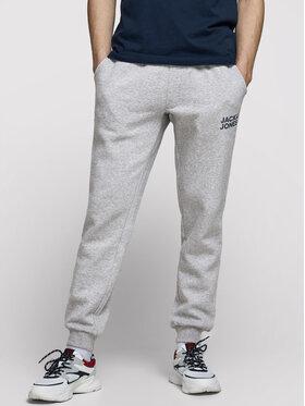 Jack&Jones Jack&Jones Spodnie dresowe Gordon Newsoft 12178421 Szary Regular Fit