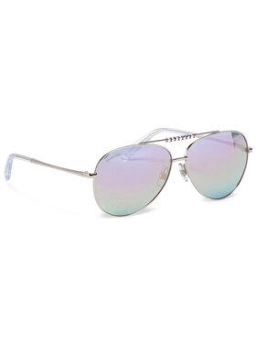 Swarovski Swarovski Okulary przeciwsłoneczne SK0308/S-16Z Srebrny
