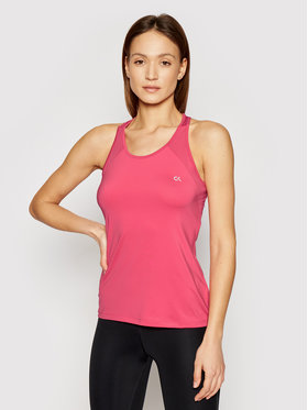 Calvin Klein Performance Calvin Klein Performance Top Mesh Back Tank 00GWS1K136 Rosa Regular Fit
