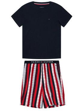 Tommy Hilfiger Tommy Hilfiger Pijama Print UB0UB00305 Bleumarin