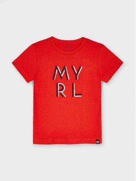 Mayoral Mayoral T-shirt 170 Rosso Regular Fit