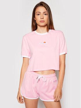 Ellesse Ellesse Marškinėliai Derla SGJ11884 Rožinė Regular Fit