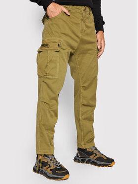 Alpha Industries Alpha Industries Pantalon en tissu Squad 188202 Vert Regular Fit