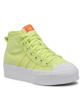 adidas adidas Обувки Nizza Platform Mid W FY7580 Жълт