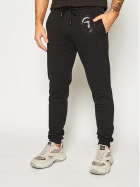 Trussardi Jeans Trussardi Jeans Teplákové nohavice Brushed 52P00131 Čierna Regular Fit
