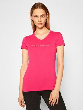 Emporio Armani Underwear Emporio Armani Underwear Marškinėliai 163321 0A263 20973 Rožinė Regular Fit