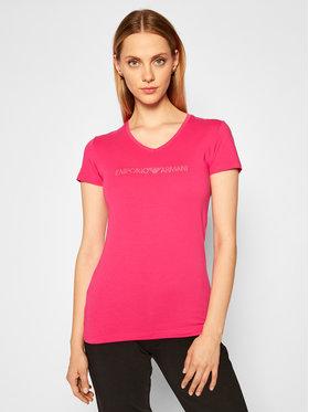 Emporio Armani Underwear Emporio Armani Underwear Tričko 163321 0A263 20973 Ružová Regular Fit