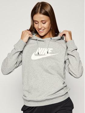 Nike Nike Mikina Essential Hoodie BV4126 Šedá Regular Fit
