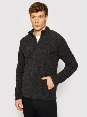4F 4F Fliso džemperis NOSHA4-PLM001 Juoda Regular Fit