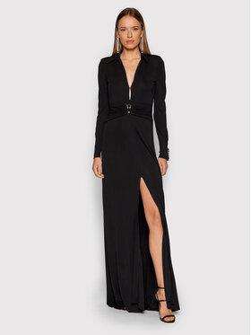 Pinko Pinko Официална рокля Tornado 20212 BLK01 1G16U2 Y7DT Черен Regular Fit