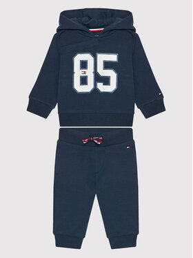 Tommy Hilfiger Tommy Hilfiger Sportinis kostiumas KN0KN01278 Tamsiai mėlyna Regular Fit