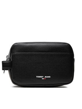 Tommy Jeans Tommy Jeans Несесер Tjm Essential Washbag AM0AM07922 Черен