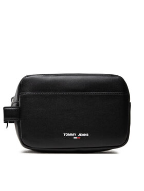 Tommy Jeans Tommy Jeans Pochette per cosmetici Tjm Essential Washbag AM0AM07922 Nero