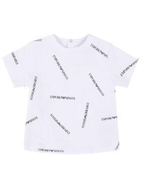 Emporio Armani Emporio Armani T-Shirt 3HHTD7 4J09Z F112 Weiß Regular Fit