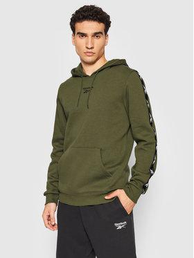 Reebok Reebok Sweatshirt Training Essentials Tape GQ4213 Grün Regular Fit