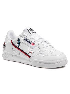 adidas adidas Pantofi Continental 80 J FX6067 Alb