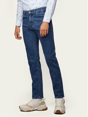 Boss Boss Τζιν Regular Fit Maine BC-P LAGOON 50389664 Σκούρο μπλε Regular Fit